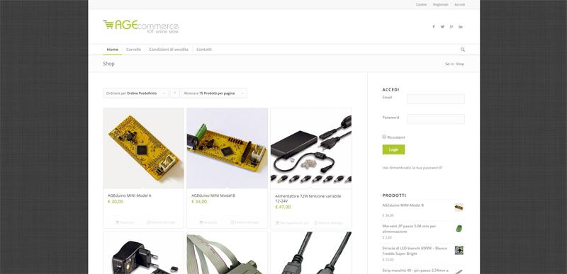 e-commerce AGEvoluzione