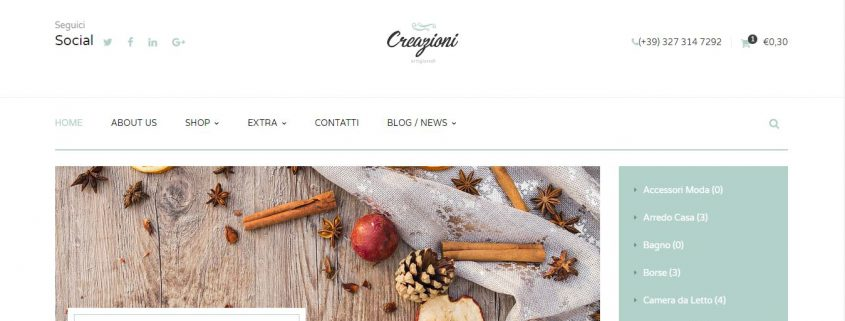 Creazioni artigianali made in Italy